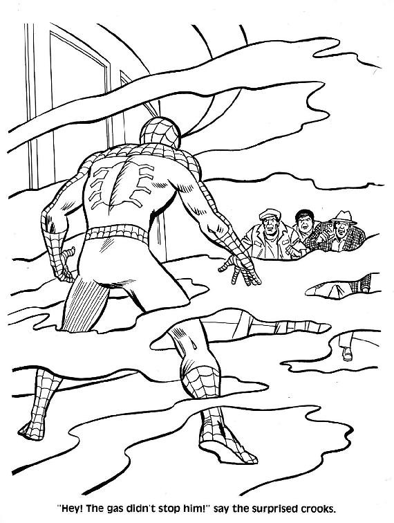 Spider-Man Unmasked! Coloring Book014