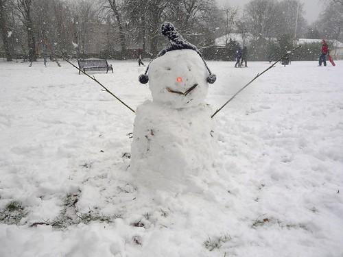 Glaswegian Snowman