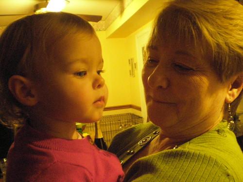 Mila with Charlene