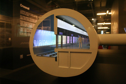 Crossrail Exhibition - Scale Model