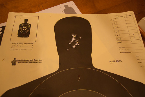 Handgun Targets - Take 2-0333