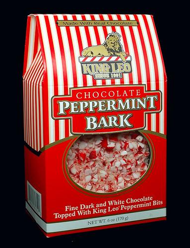 King Leo Chocolate Peppermint Bark