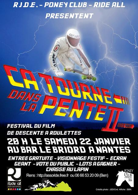 """""""Ca tourne dans la pente"""" Festival de vidéo de sport de descente 22 janv 2010 Nantes 5222072808_3cb3b79f6e_z"""