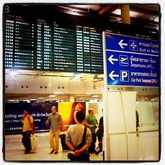 引き続きバンコクの空港