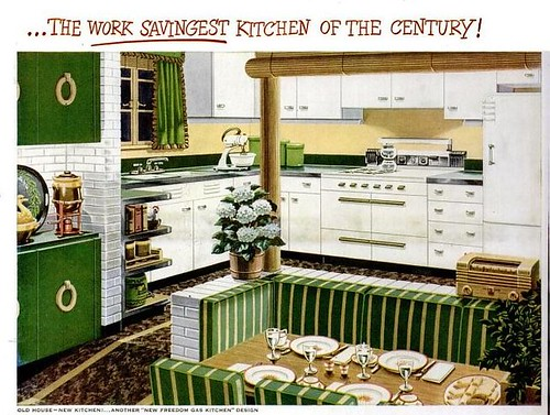 Work-Savingest Kitchen (New Freedom Gas Kitchen) Life Mar 4 1946