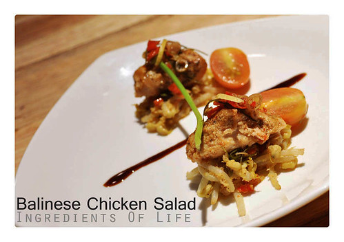 Balinese Chicken Salad