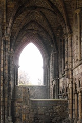 Ruins of Abbey at Palace of Holyroodhouse (acinorev79) Tags: monument scotland ruins edinburgh edimburgo scozia palaceofholyroodhouse