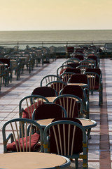 Terrace on the Sea (Beum Gallery) Tags: ocean mer atlantic morocco corniche maroc promenade casablanca atlantique ocan