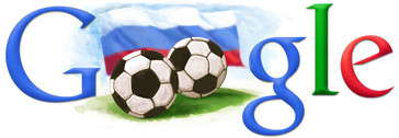 Google Russia World Cup Doodles 2018 and 2022