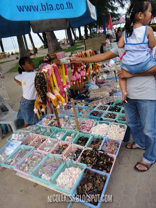 beach stall