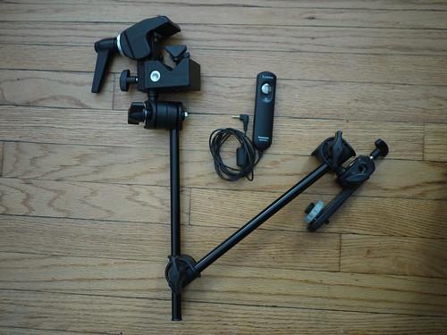 Camera arm