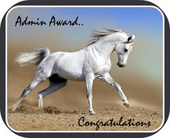 Admin Award!