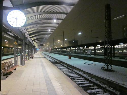 Eisig am HBF Frankfurt