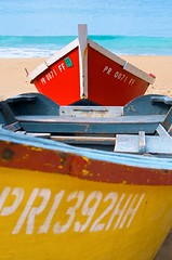 More Crashboat Beach (IRainyDays) Tags: red beach yellow puertorico skiffs crashboatbeach
