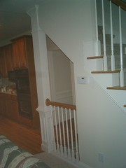 Top of the stairs oppening (skilltouch) Tags: houses atlanta floors ga georgia construction bars interiors bathrooms finish granite sugarloaf trim residential duluth additions builder remodeling hardwood consulting exteriors porches basements skilltouch