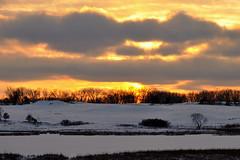 Winter Sunset DSC_7122 (Mully410 * Images) Tags: winter landscapes sunsets pillars icecrystals tcaap ahats twincitiesarmyammunitionplant tcaapwva ardenhillsarmytrainingsite