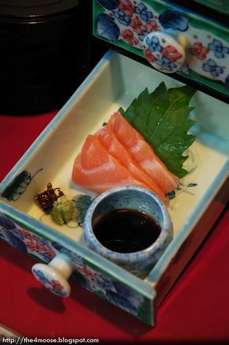 魚山園 Gyozan-en - Salmon Sashimi