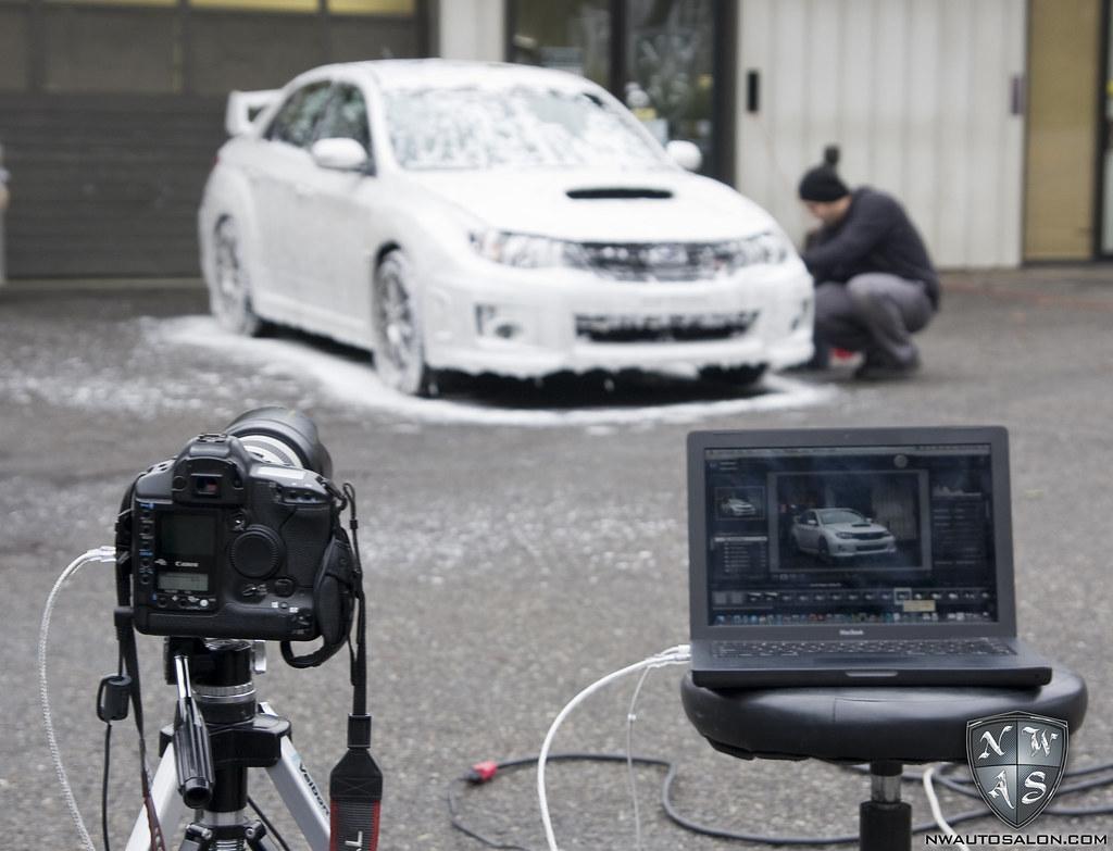 NorthWest Auto Salon 2011 White Pearl Subaru Impreza WRX STi
