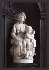 Bruges : The Madonna of Bruges by Michelangelo...