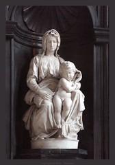 Bruges : The Madonna of Bruges by Michelangelo...