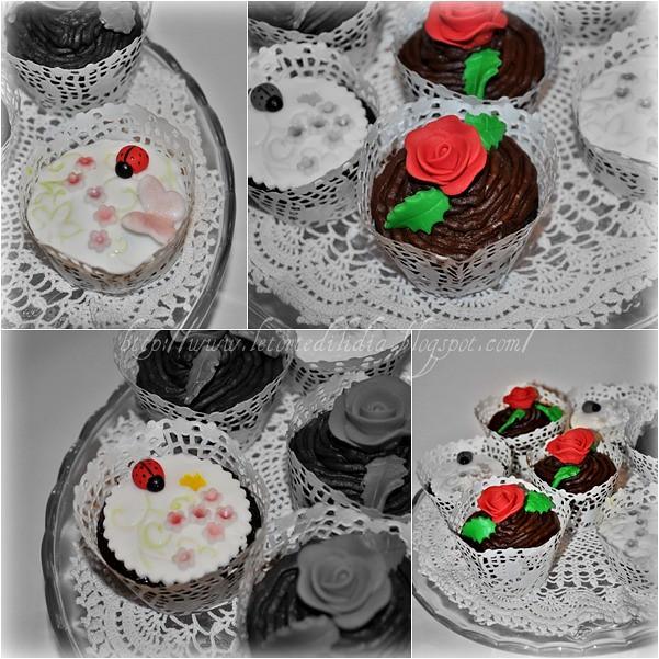 Devil's food cupcake