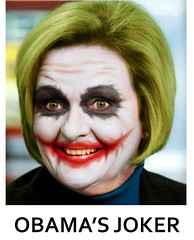 claire obamas joker