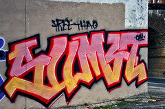 Free Thao (damonabnormal) Tags: street city urban streetart philadelphia canon graffiti december tag streetphotography tags dec urbanart pa tuesday spraypaint philly graff monday taggers phl 2010 215 tagz urbanite sumet philadelphiastreetart 40d philadelphiagraffiti wallbomb taggingcrew freethao philadelphiaurbanart