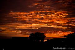 Nascer do sol - 09/12/2012 (henriquecesar) Tags: sun sol sunshine brasil canon natureza es amanhecer manhã nascerdosol cedo vilavelha canont1i