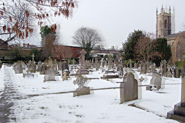 grave yard St Nicolas
