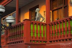 Balcones de Barranco (OmarD) Tags: peru lima balcony colonial artistas balcon bohemian miraflores barranco distrito suramerica artits bohemios
