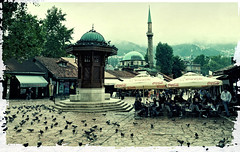 My Sarajevo (mmilanovic) Tags: autumn canon europe sarajevo bosnia bas hercegovina bosna 500d evropa jesen bascarsija sebilj carsija flickraward 1585mm