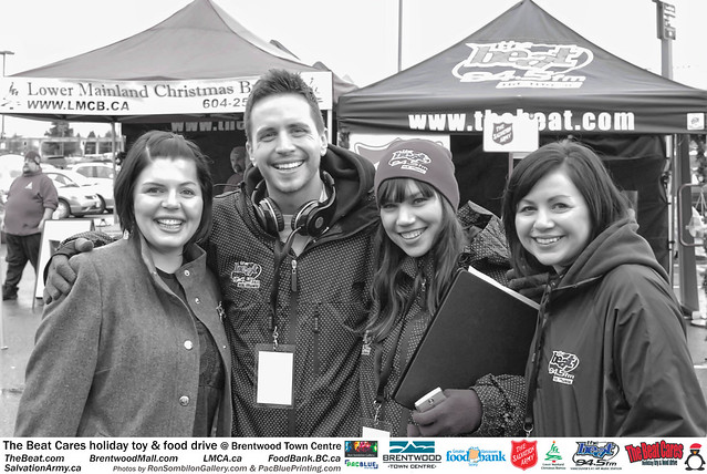 The BEAT CARES holiday food and toy drive at Brentwood Town Centre photos by Ron Sombilon Gallery (772) by Ron Sombilon Gallery