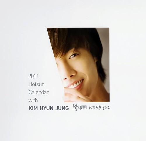Kim Hyun Joong Hotsun 2011 Calendar
