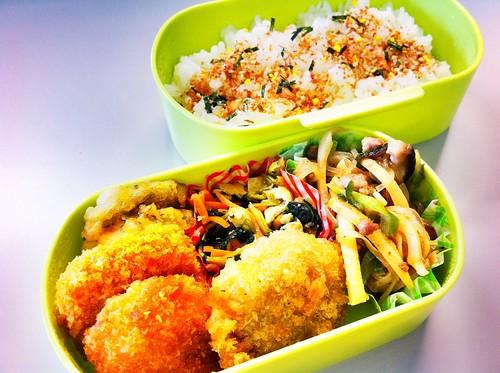 今日のお弁当 No.72 – 鰹みりん焼