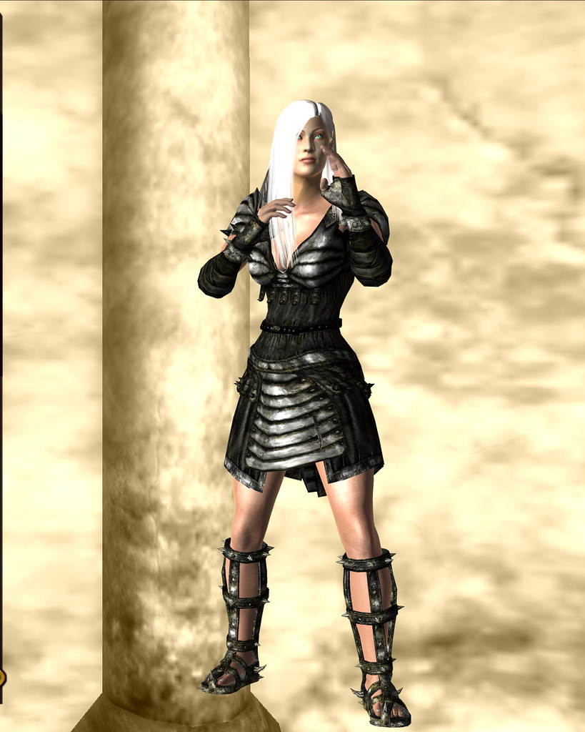 arena armor, heavy - black 05