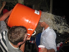 IMG_7794 (captainkurt) Tags: party orange beach halloween wet beer face bucket nolan newport surprise prank splash shores pour keg soaked dumped drench shorescrew bobroff
