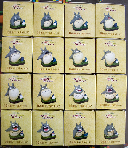 Totoro figures! set of 16