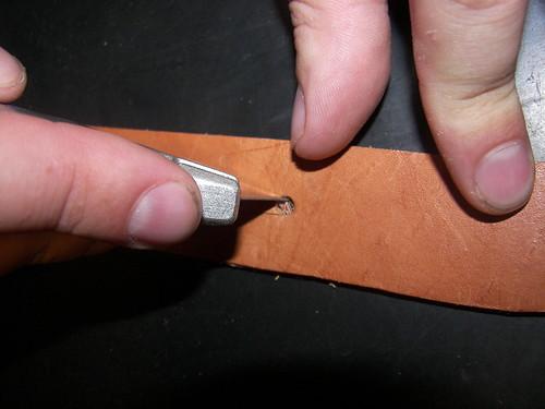 Belt opening