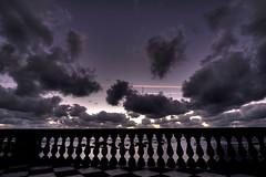 terrazza (Orione59) Tags: sunset italy italia raw mare tuscany tramonti toscana inverno dicembre livorno hdr marzo2011challengewinnercontest