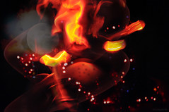 ...Lust (Lunayda) Tags: red lightpainting night fire magic dream sensual fantasy lust