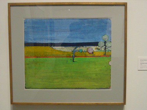 Invented Landscape, 1966, Acrylic on Paper, Richard Diebenkorn, Oakland Museum of California _ 9614
