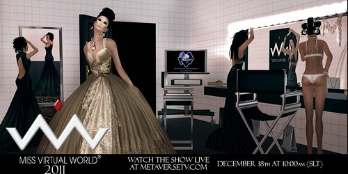 MISS VIRTUAL WORLD 2011 invite