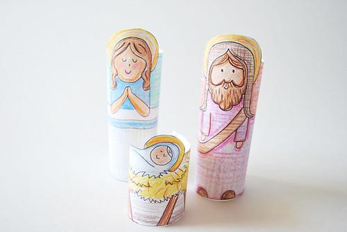 Tube Nativity