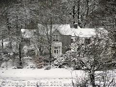 Kilcamb Hotel in snow