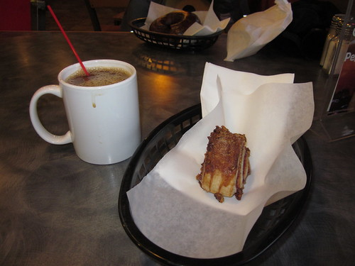 Coffee and Rugelach at Kettleman's Bagels