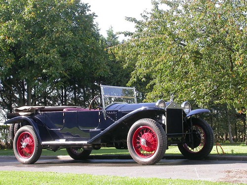 1922 Lancia Lambda. Lancia Lambda Torpedo 1925