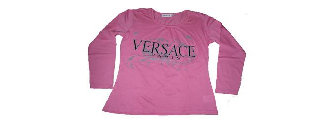 Ladies long slv printed T shirts