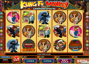 Kung Fu Monkey slot game online review