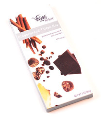Vosges Gingerbread Toffee Bar