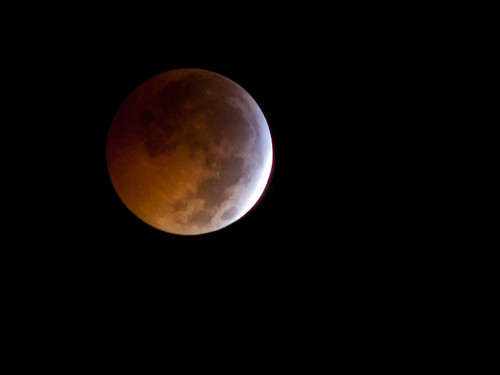 Lunar Eclipse, December 20, 2010, 11:42 PST